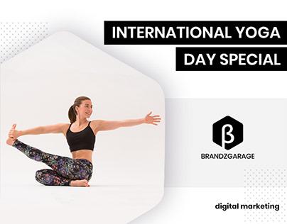 Yoga Day Ads by BrandzGarage