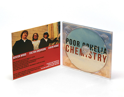"""Chemistry"", Album Cover by Poor Ophelia"