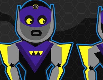 Bruno Character Design for Team RocBots on Yolokoo.com