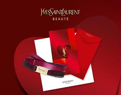 YSL Beauty Microsite - Love Note