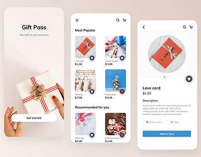 Gift Pass - Send gifts to your loved ones