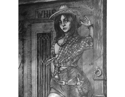 cowboy whiskey girl