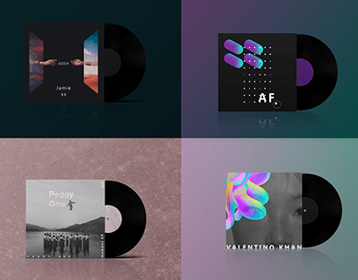 Vinyl cover collection