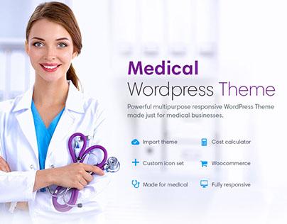 Medical Website Theme Design