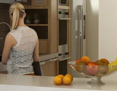 Kitchen / Cocina ALCAZAR