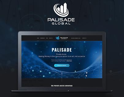 Palisade Global Website Concept