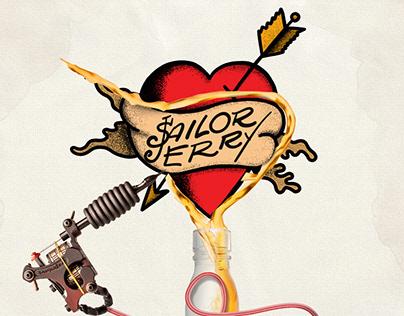 Poster Design - Sailor Jerry (REWORKED)