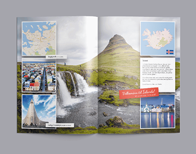 Holiday Brochure Island
