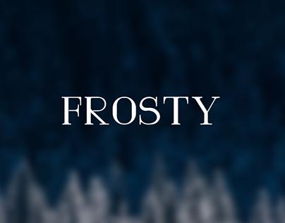 Frosty typeface -free