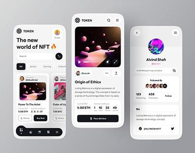 Token - NFT Auction Platform 🔥🔥