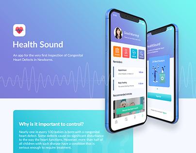 Health Sound | iOS Application for health