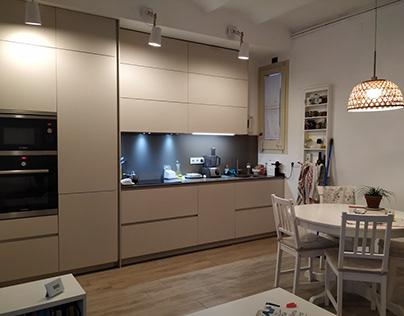 Reforma interior d'una vivienda a Sant Andreu