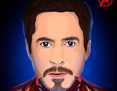 Iron Man - Digital Illustration
