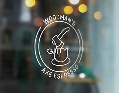 Woodman's Axe Espresso - Brand Identity