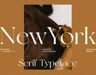 NewYork Typeface / FREE