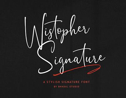 Wistopher Signature