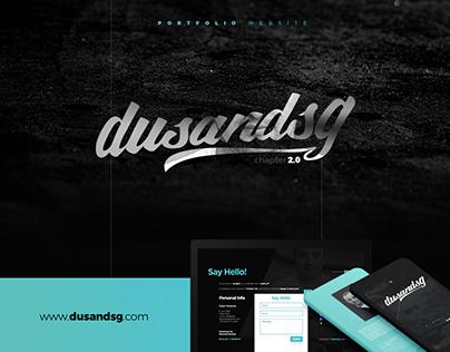 dusandsg - Portfolio Website Chapter 2.0