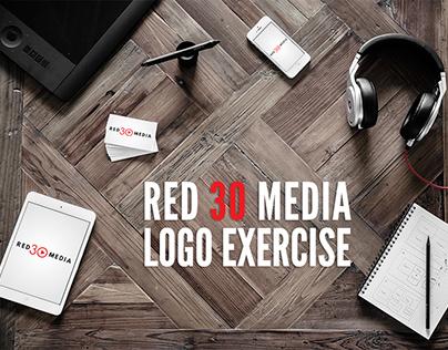 Red 30 Media Logo Exercise