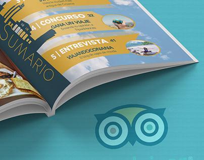 Tripadvisor City | Magazine Design