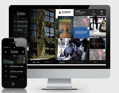 Musée du quaI Branly -  Site web ( compétition )
