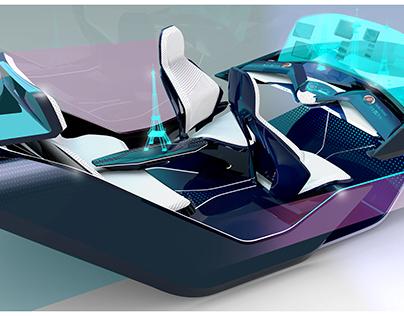 | BLUU| Autonomous vehicle interior concept