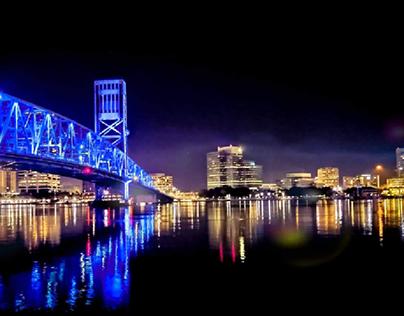 Evening in Jacksonville, Fl