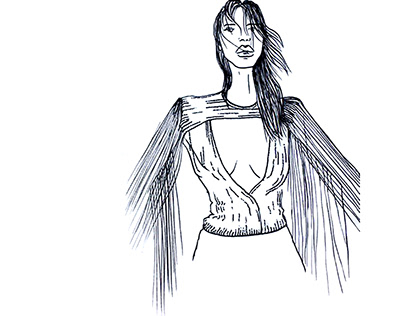 Fashion illustration Bella