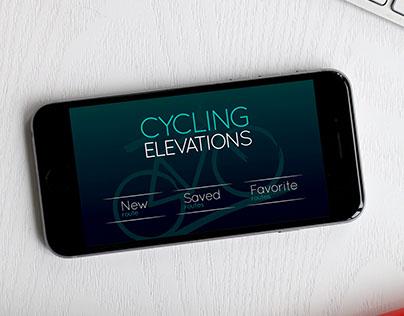 Cycling Elevations App Design