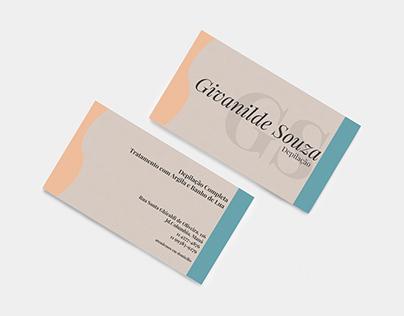 Cartão de Visitas - Givanilde Souza