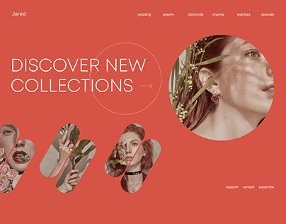 Jewelry Website Redesign Concept