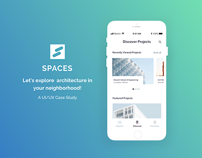 SPACES - Architecture Discovery App