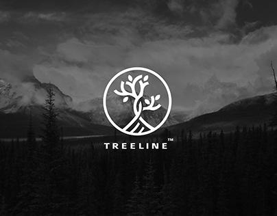Treeline Logo design