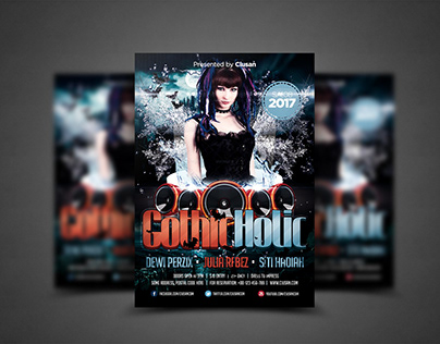 Gothic Holic Flyer Template