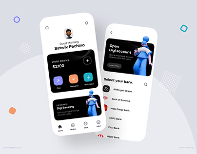 Wallet+Banking App