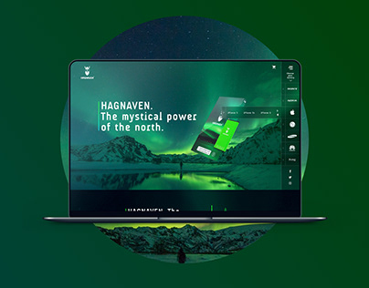 Hagnaven Website Redesign Concept