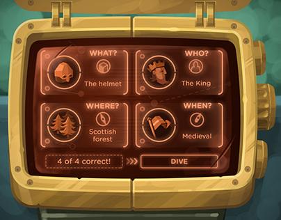 Chronograph UI concepts