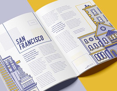 San Francisco Editorial Illustrations