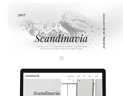 Scandinavia - Adobe Muse E-commerce Template