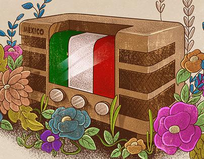 Radio en México (infografía)