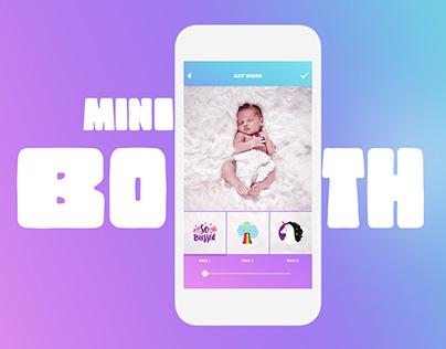Mini Booth iOS App