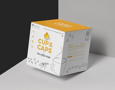 Branding for Cup & Caps | Identidad para Cup & Caps