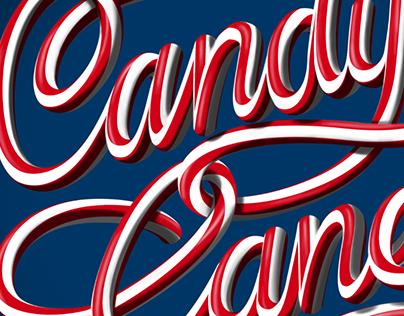 Candy Cane - 3D Script