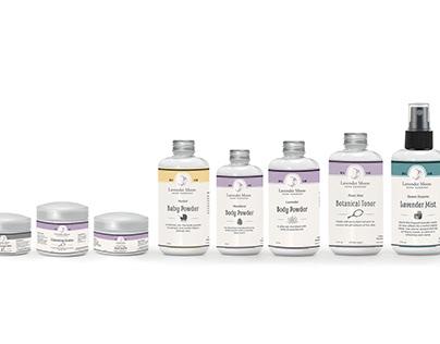 Lavender Moon Product Labels