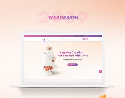 Cake Bakery | Landing page design