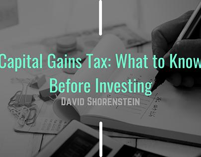 Capital Gains Tax Blog Header