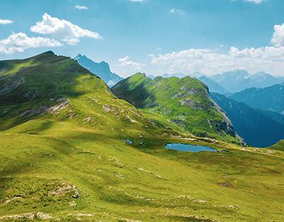 Dolomites Colors: Fanes Sennes Braies