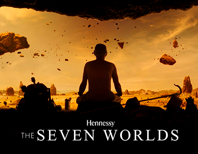 HENNESSY X.O- THE SEVEN WORLDS.