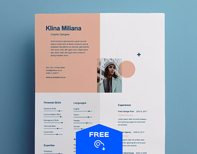 Split : Free Resume Template
