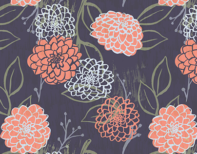 Darling Dahlia Pattern