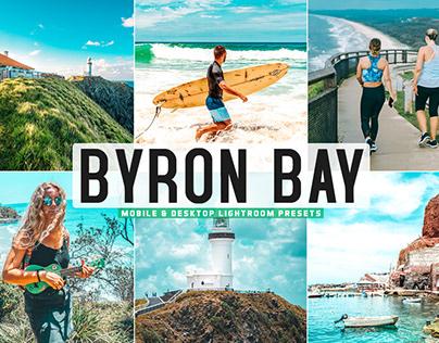 Free Byron Bay Mobile & Desktop Lightroom Presets